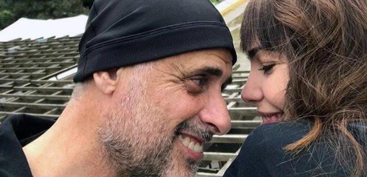 Relax y amor en Villa la Angostura: el romántico mensaje de Jorge Rial a Romina Pereiro