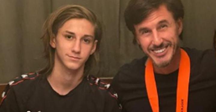 En medio de los rumores de embarazo de Pampita, Roberto García Moritán le dejó un emotivo saludo a su hijo