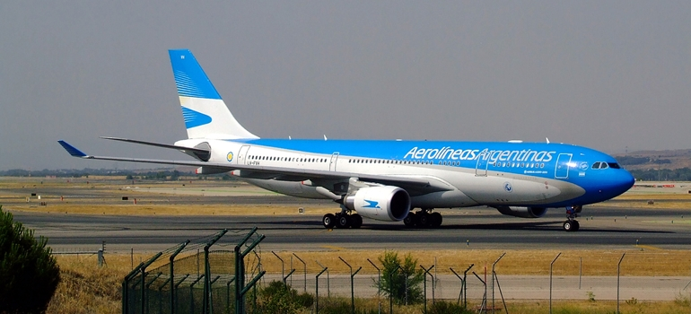 El mensaje de Aerolíneas Argentinas antes de volar a Rusia: