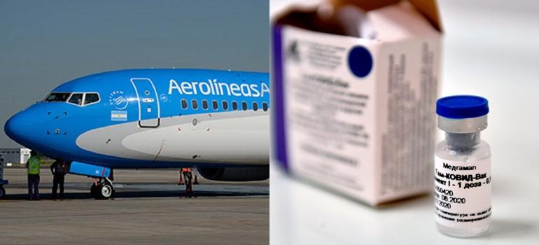 Llegó a Moscú el avión que traerá más vacunas Sputnik V