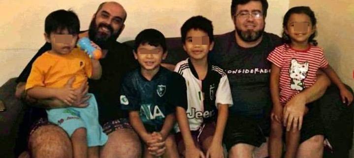 La historia de Rafael y Pedro, la pareja que adoptó 4 hermanitos del Amazonas: