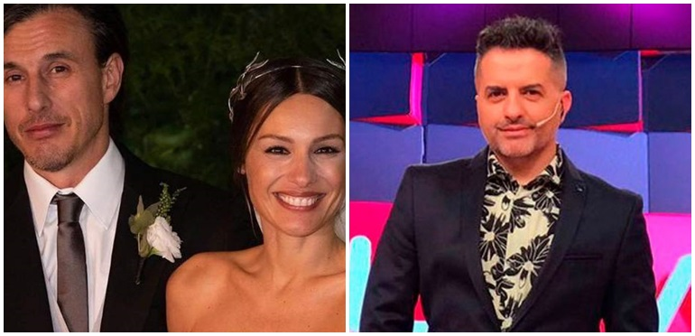 El pícaro comentario de Ángel de Brito al ver una foto de Pampita en traje de baño