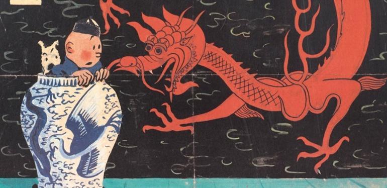 ¡Récord Mundial! La millonaria cifra por la que se subastó una portada de Tintín