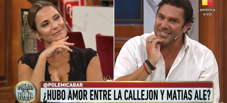 Matías Alé y María Fernanda Callejón admitieron que tuvieron un romance: