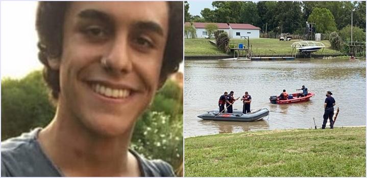 El peor final: encontraron el cuerpo de Gian Mazzuchelli flotando en un arroyo interno del country en el que había desaparecido