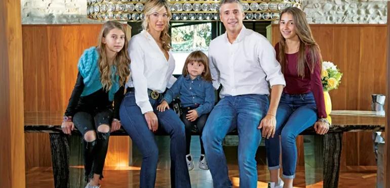 El emotivo reencuentro de Hernán Crespo con su familia