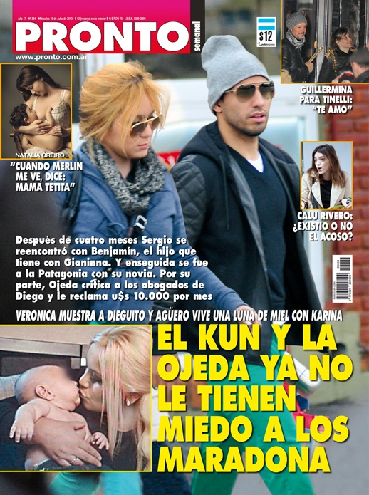 Revista pronto el kun aguero y veronica ojeda ya no le for Primicias ya revista pronto