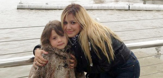 La Princesita Karina y su hija Sol