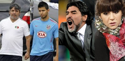 Agüero - Maradona