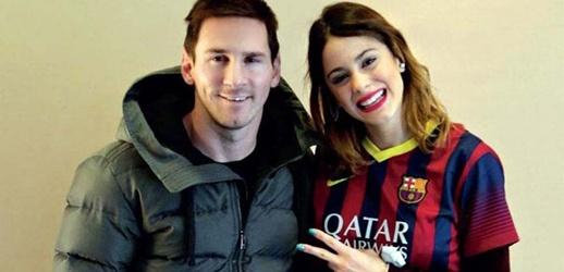 Leo Messi y Tini Stoessel
