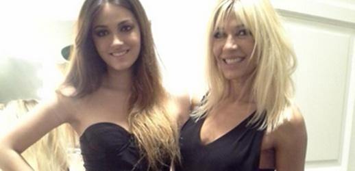 Oriana Sabatini y Catherine Fulop