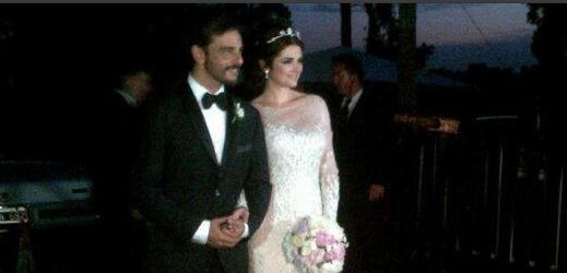Araceli González y Fabián Mazzei.