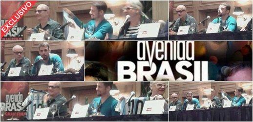 ... todo sobre la conferencia de prensa de los actores de 'Avenida Brasil