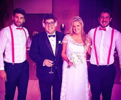 Los detalles del casamiento de dar o barassi for Ratingcero noticias del espectaculo