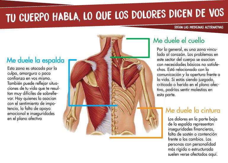 Como duele el músculo sobre el cuello