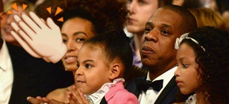La hija de Beyonce marca tendencia con su homenaje a Prince en los Grammy