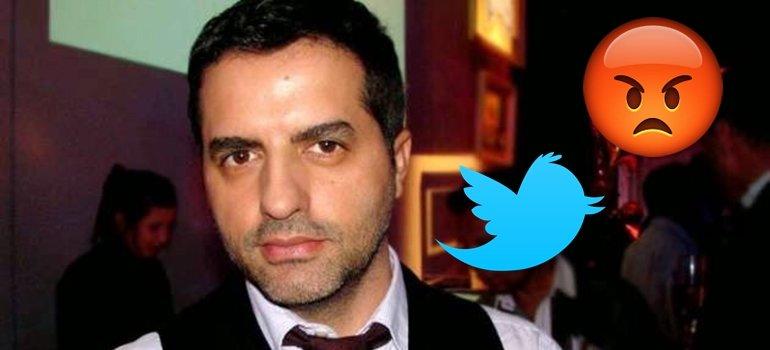 Angel de Brito perdió la paciencia en Twitter: