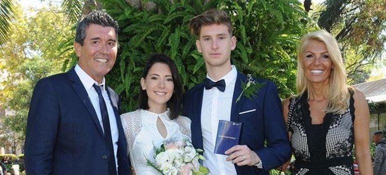 ¿Te parece bien? La hija de Miguel Ángel Cherutti se casó a los 18 años