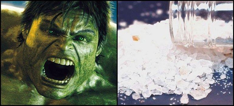 Llegó Hulk: mirá el video de la droga que los vuelve locos