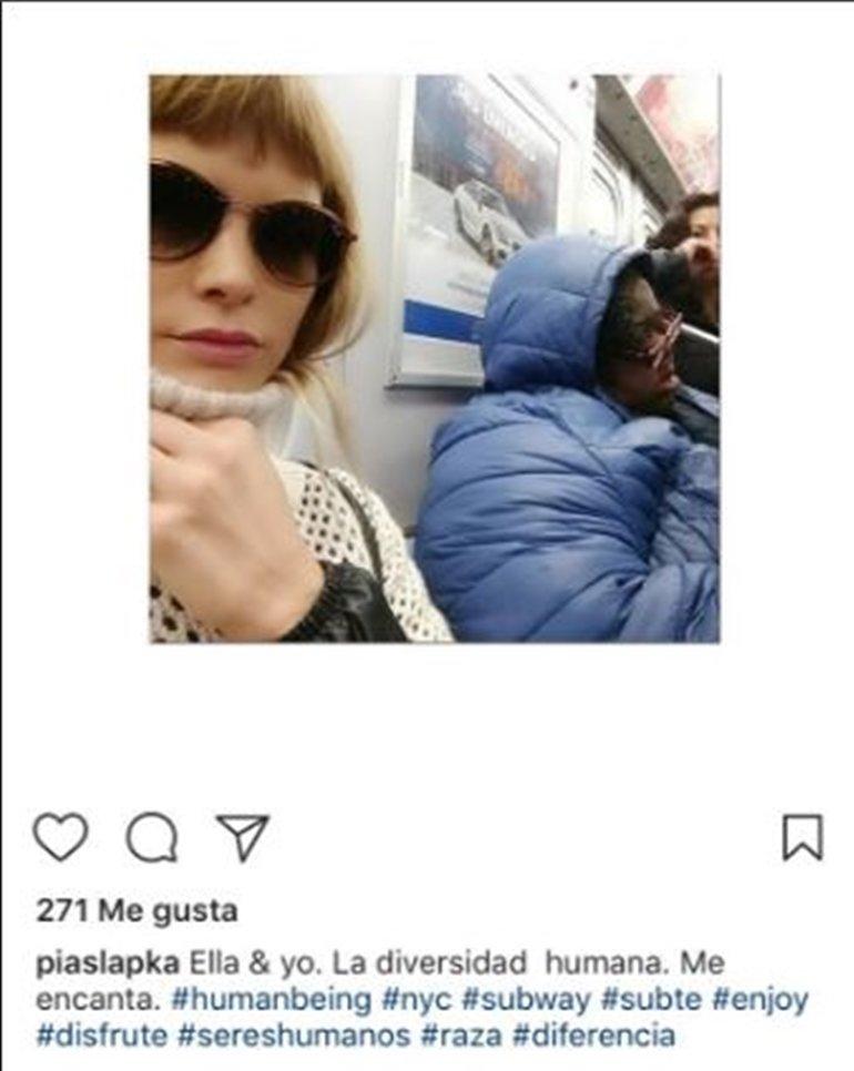 Pía Slapka se disculpó por la polémica foto