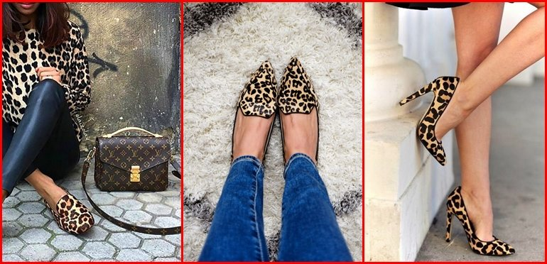 Alerta tendencia: Zapatos ANIMAL PRINT