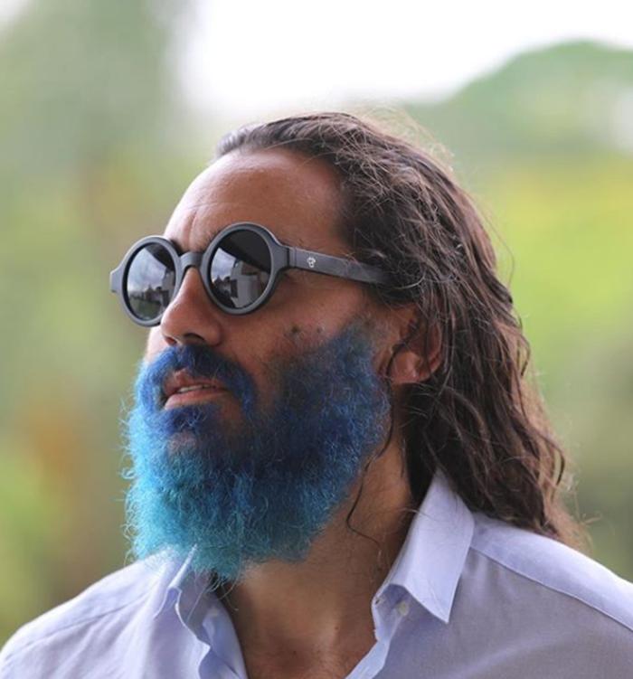 Juan Pablo Sorín apareció con la barba azul — Qué te hicieron