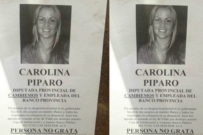 Píparo respondió desde Twitter el repudio de los trabajadores del Banco Provincia