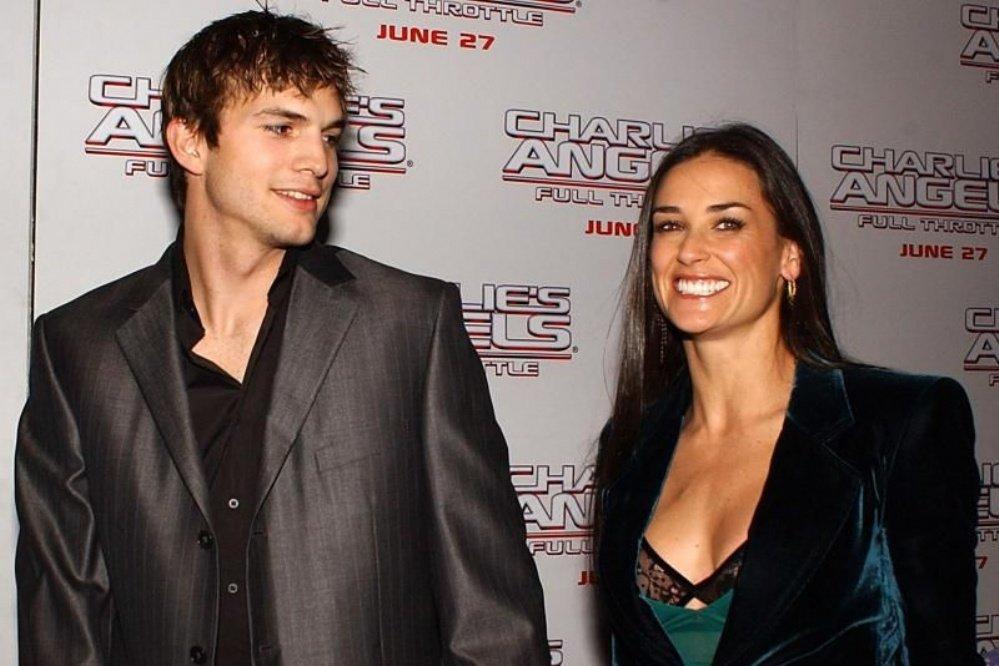 El drástico método de Ashton Kutcher para olvidar a Demi Moore