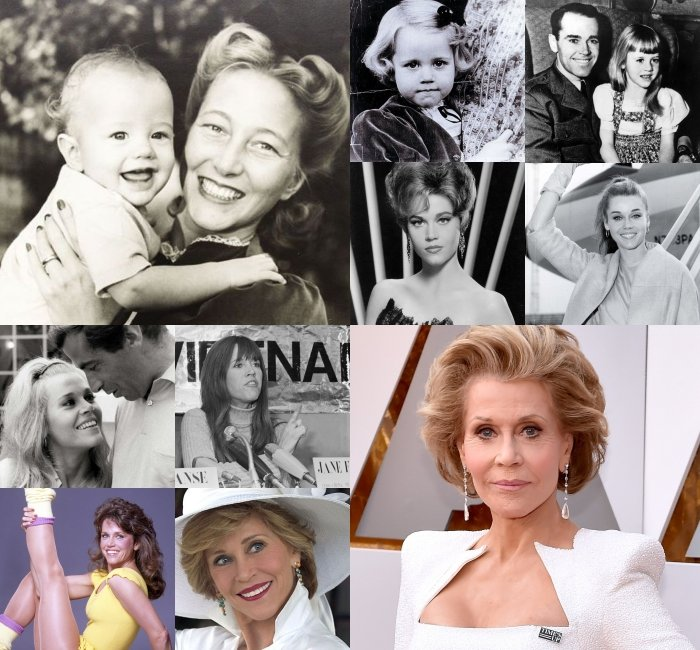 collage jane fonda