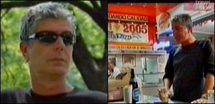 Anthony Bourdain en argentina