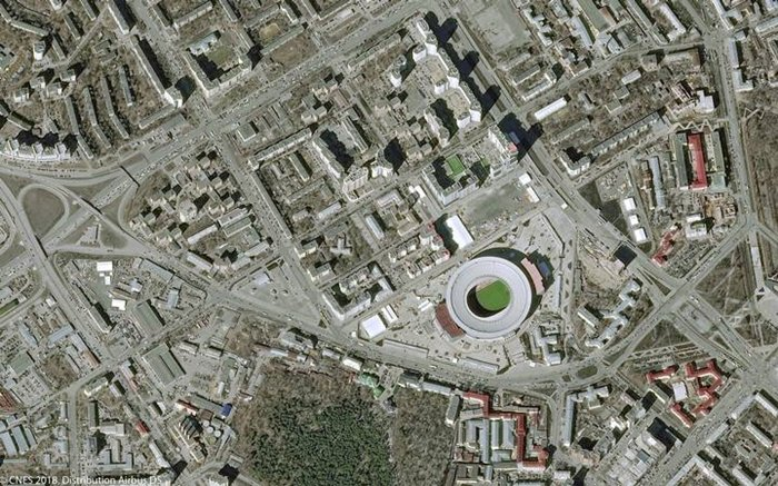 Estadios Ekaterinburg Arena REUTERS