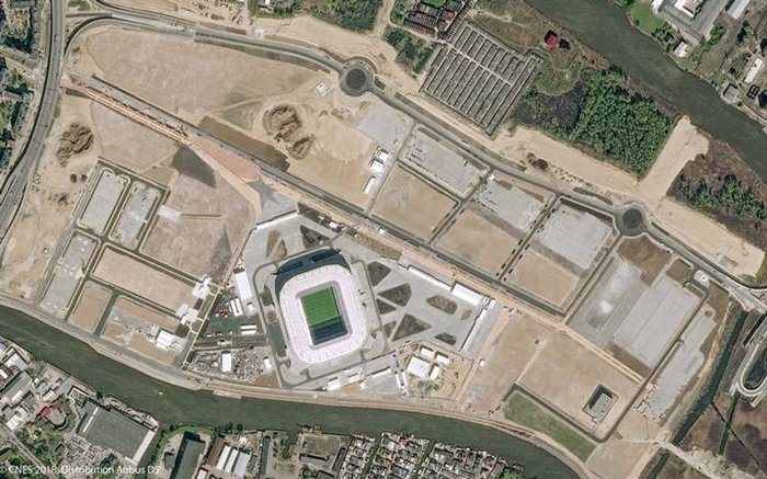 Estadios Kaliningrad Stadium REUTERS