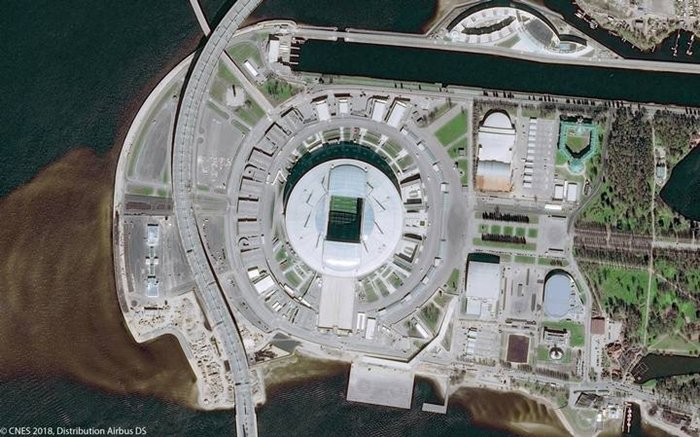 Estadios Saint Petersburg Krestovsky Stadium REUTERS