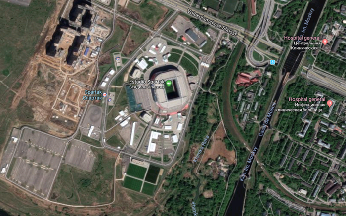 Estadios Spartak Stadium Google Maps