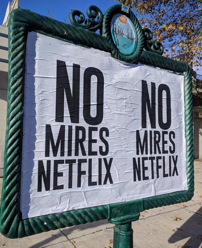 Se terminó el misterio de los carteles — No mires Netflix