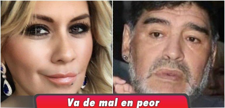 El escándalo que le faltaba a Maradona: Ahora quiere la tenencia de Dieguito Fernando