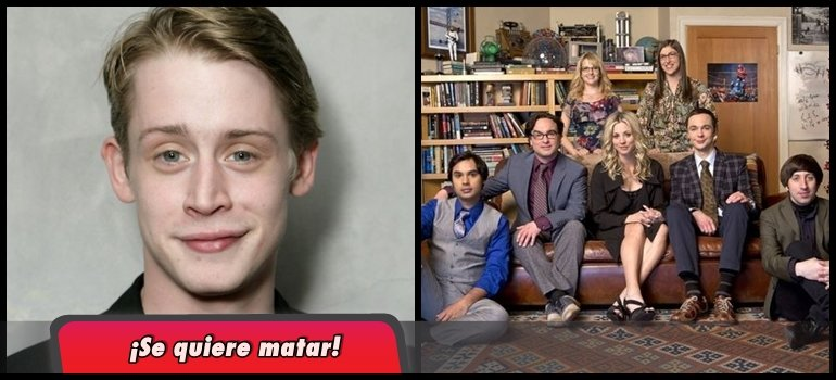 Macaulay Culkin contó que rechazó tres veces ser el protagonista de The Big Bang Theory