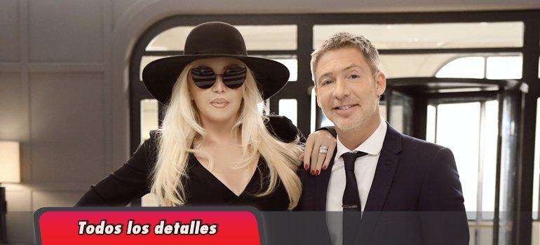 Susana Giménez visitó a Adrián Suar en El host