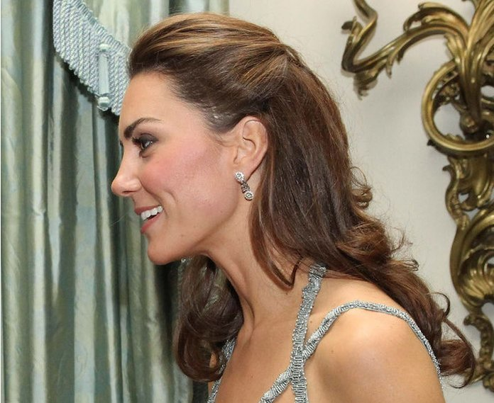LONDON, UNITED KINGDOM - OCTOBER 26:  In this handout photo provided by Clarence House, Catherine, Duchess of Cambridge attends an event in support of the 'In Kind Direct' charity at Clarence House on October 27, 2011 in London, United Kingdom. (Photo by Paul Burns/Clarence House via Getty Images)
