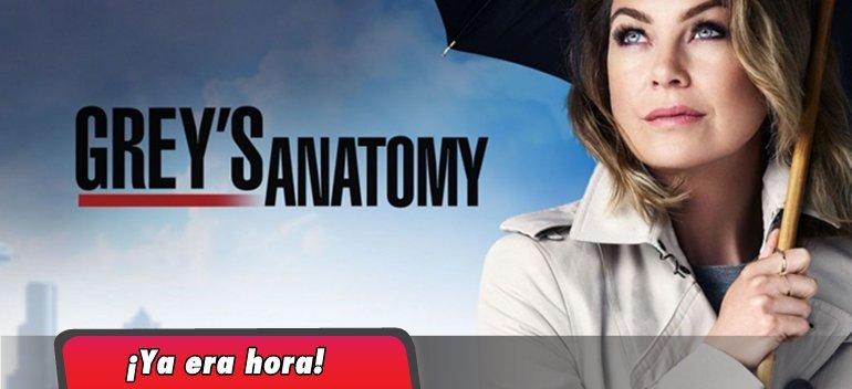 La nueva temporada de Grey's Anatomy ya está disponible en Netflix