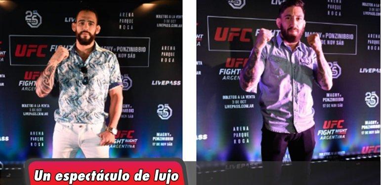 UFC® llega a Buenos Aires por primera vez