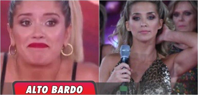 Terrible agarrada entre Soledad Fandiño y Laurita Fernández en vivo