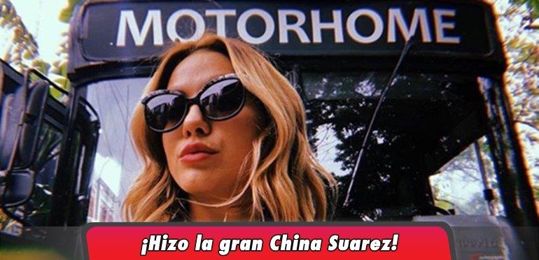 Flor Vigna se la agitó a Laurita Fernández y se sacó una foto en el motorhome
