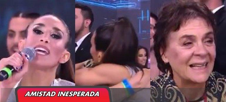 Delirio total: Flor Marcasoli imitó a Cristina Kirchner y terminó abrazada a la mamá de Esmeralda Mitre
