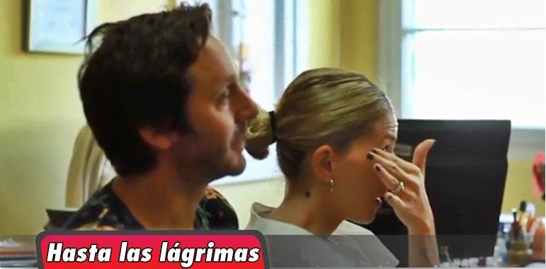 El video de la China Suárez emocionada en un hospital de niños en Chile