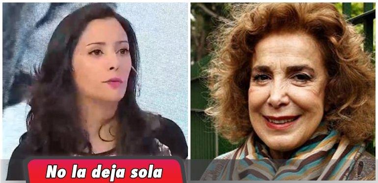 """Anita Coacci: Mirta Busnelli Acompañó A Anita Coacci: """"Ella Va A"""