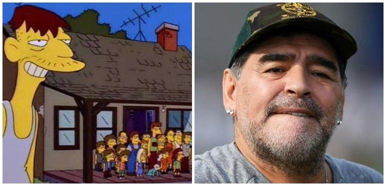 Los mejores memes sobre la nueva paternidad de Diego Maradona