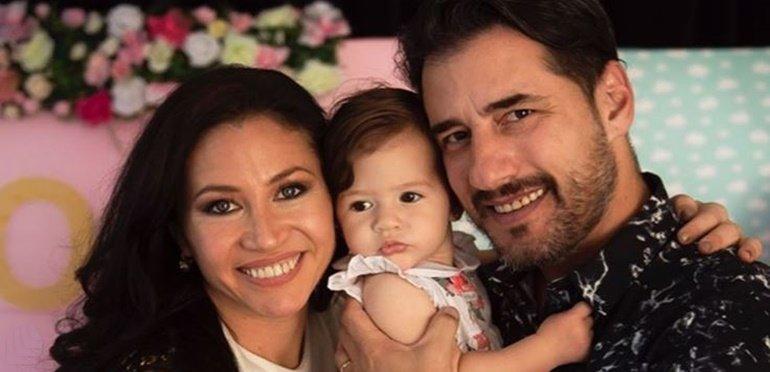 Adabel Guerrero tiró la casa por la ventana para el primer añito de su hija Lola