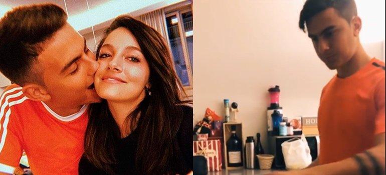 """Paulo Dybala le cocinó a Oriana Sabatini y la cantante se derritió de amor: """"No puedo más"""""""