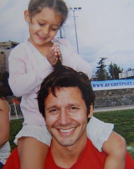 Benjamín Vicuña homenajeó a su hija Blanca con emotivo mensaje